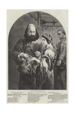 Shylock and Jessica Giclee Print by Sir John Gilbert