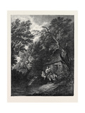 The Cottage Door Giclee Print by Thomas Gainsborough