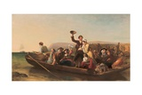 Emigration - the Parting Day, 1852 Giclee Print by Thomas Falcon Marshall