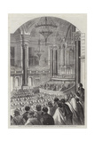 Soiree of the Liverpool Co-Operative Provident Association at St George's Hall Giclee Print by Thomas Harrington Wilson