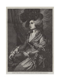 Portrait of Mrs Siddons, in the South Kensington Museum Giclee Print by Thomas Gainsborough