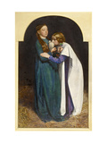 The Return of the Dove to the Ark, 1851 Wydruk giclee autor John Everett Millais