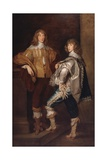 Lords John and Bernard Stuart, after Anthony Van Dyck, C.1760-70 Giclee Print by Thomas Gainsborough