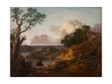 View in Suffolk, C.1755 Giclee Print by Thomas Gainsborough