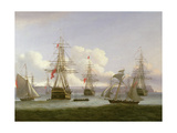 The Exile's Departure, 1826 Giclee Print by Thomas Luny