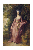 Mrs. Hamilton Nisbet Giclee Print by Thomas Gainsborough