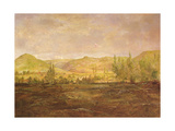 Valley of Saint-Fergeux (Doubs) Giclee Print by Theodore Rousseau