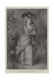 The Famous Picture of the Duchess of Devonshire Giclee Print by Thomas Gainsborough