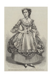 Miss Fanny Stirling, of the Haymarket Theatre, as Miss Hardcastle Giclee Print by Thomas Harrington Wilson
