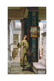 In the Temple, 1871 Giclee Print by Sir Lawrence Alma-Tadema