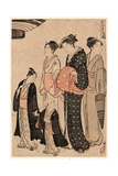 Tomimoto Bushi Giclee Print by Torii Kiyonaga