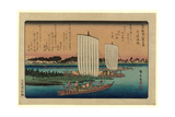 Gyotoku No Kihan Giclee Print by Utagawa Hiroshige