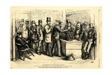 Going Through the Form of Universal Suffrage, 1871 Giclee Print by Thomas Nast
