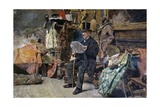 Antiquarian, 1892-1893 Giclee Print by Tito Lessi