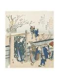 Kamata, 1833 Giclee Print by Toyota Hokkei