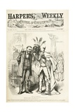 News in Washington, 1875 Giclee Print by Thomas Nast