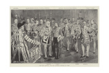 The Earl Marshal and Her Majesty's Officers of Arms Giclee Print by Thomas Walter Wilson