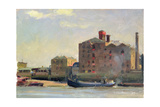 Against the Tide, Rotherhithe, 1992 Giclee Print by Trevor Chamberlain