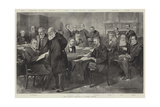 The Eastern Question, a Cabinet Council Giclee Print by Thomas Walter Wilson