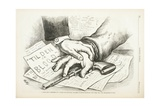 Tilden or Blood, 1877 Giclee Print by Thomas Nast