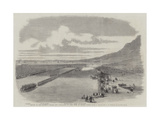 Review of Her Majesty's Troops and Volunteers at Cape Town by Prince Alfred Giclee Print by Thomas William Bowler