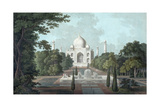 View of Taj Mahal, 1801 Impression giclée par Thomas & William Daniell