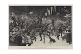 An Old-Time Christmas Revel Giclee Print by Thomas Walter Wilson