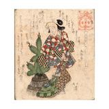 Kadoide Yoshi Giclee Print by Toyota Hokkei