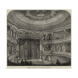 Interior of the Royal Court Theatre, Sloane-Square Giclee Print by Thomas W. Wood