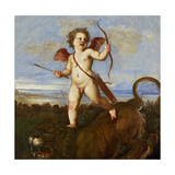 The Triumph of Love, C. 1545 Giclee Print by  Titian (Tiziano Vecelli)