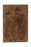Edomachi Nichome Tsutaya Uchi Hitomachi[] Giclee Print by Torii Kiyonaga