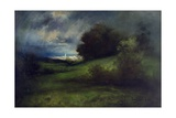Summer Storm, 1903 Giclee Print by Thomas Moran