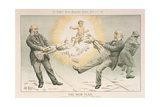 The New Year, from 'St. Stephen's Review Presentation Cartoon', 31 December 1887 Giclee Print by Tom Merry