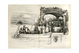 International Law - the Better Way..., 1874 Giclee Print by Thomas Nast