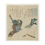 Story of a Warrior in Tsukushi Province, C. 1834 Giclee Print by Toyota Hokkei
