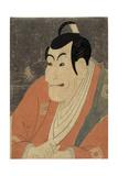 Ichikawa Ebizo No Takemura Sadanoshin Giclee Print by  Toshusai Sharaku