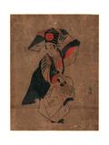 Sanbaso Giclee Print by Torii Kiyomitsu