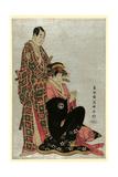 Sawamura Sojuro [To] Segawa Kikunojo Giclee Print by  Toshusai Sharaku