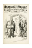 No Surrender; U.S.G., I Am Determined to Enforce Those Regulations, 1872 Giclee Print by Thomas Nast