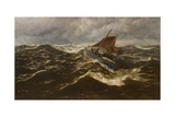 Away to the Goodwin Sands (Dover Lifeboat) Giclee Print by Thomas Rose Miles