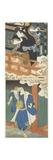 Nakamura Utaemon II as Ishikawa Goemon, Mimasu Daigoro IV as Mashiba Hisayoshi Giclee Print by Utagawa Hirosada