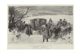 The Tables Turned, the Bishop's Christmas Greeting Giclee Print by Thomas Walter Wilson
