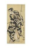 Ichikawa Yaozo III as Fuwa No Banzaemon, 1794 Giclee Print by  Toshusai Sharaku