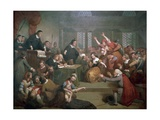 Trial of George Jacobs for Witchcraft, August 5, 1692, 1855 Giclee Print by Tompkins Harrison Matteson