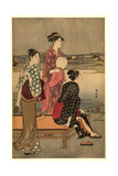 Okawabata Yuryo Giclee Print by Torii Kiyonaga