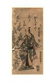 Onoe Kikugoro No Sanjo Kokaji Munechika Giclee Print by Torii Kiyomitsu