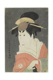 Osagawa Tsuneyo II in a Female Role, 1794 Giclee Print by  Toshusai Sharaku