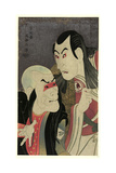 Nidaime Sawamura Yodogoro (No Kawatsura Hogen To) Bando Zenji (No Oni Sadobo) Giclee Print by  Toshusai Sharaku