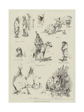 Sketches from an Indian Reservation Giclee Print by Stanley L. Wood