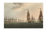 Battle of the Nile, 1798 Giclee Print by Thomas Whitcombe